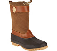 Tommy Hilfiger Slip On Duck Boots - Arcadia - S8502