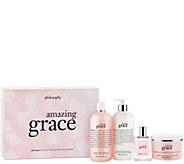 philosophy amazing grace 4 Piece collection - S8305