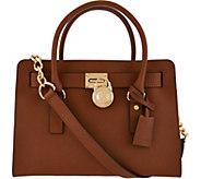 MICHAEL Michael Kors Hamilton Satchel Handbag - S8308