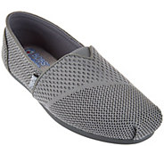 Skechers Bobs Woven Slip On Shoes with Memory Foam - Urban Trails - S8508
