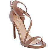 Jessica Simpson Asymmetrical Strap Heels - Rayli - S8409