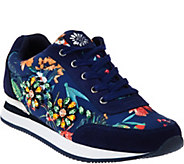 Yellow Box Floral Embellished Sneakers - Alberta - S8511