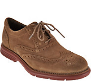 Rockport Total Motion Mens Fusion Wing Tip Oxfords - S8814