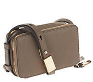 G.I.L.I. Pebbled Leather Convertible Micro Bag - S8318
