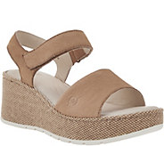 Born Canvas Wrapped Wedge Sandal - Lucee - S8518