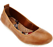 Born Waxed Suede Slip-On Flat - Tami - S8519