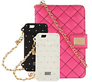 Rolf Bleu Set of 2 iPhone 6 Purse Cases w CC Slot & iPad Mini Case - S8321