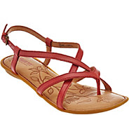Born Leather Multi-Strap Sandals - Mai - S8521