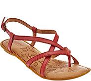 Born Leather Multi-Strap Sandals - Mai - S8521