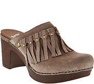 Dansko Deni Leather Slip-On Clogs - S8721