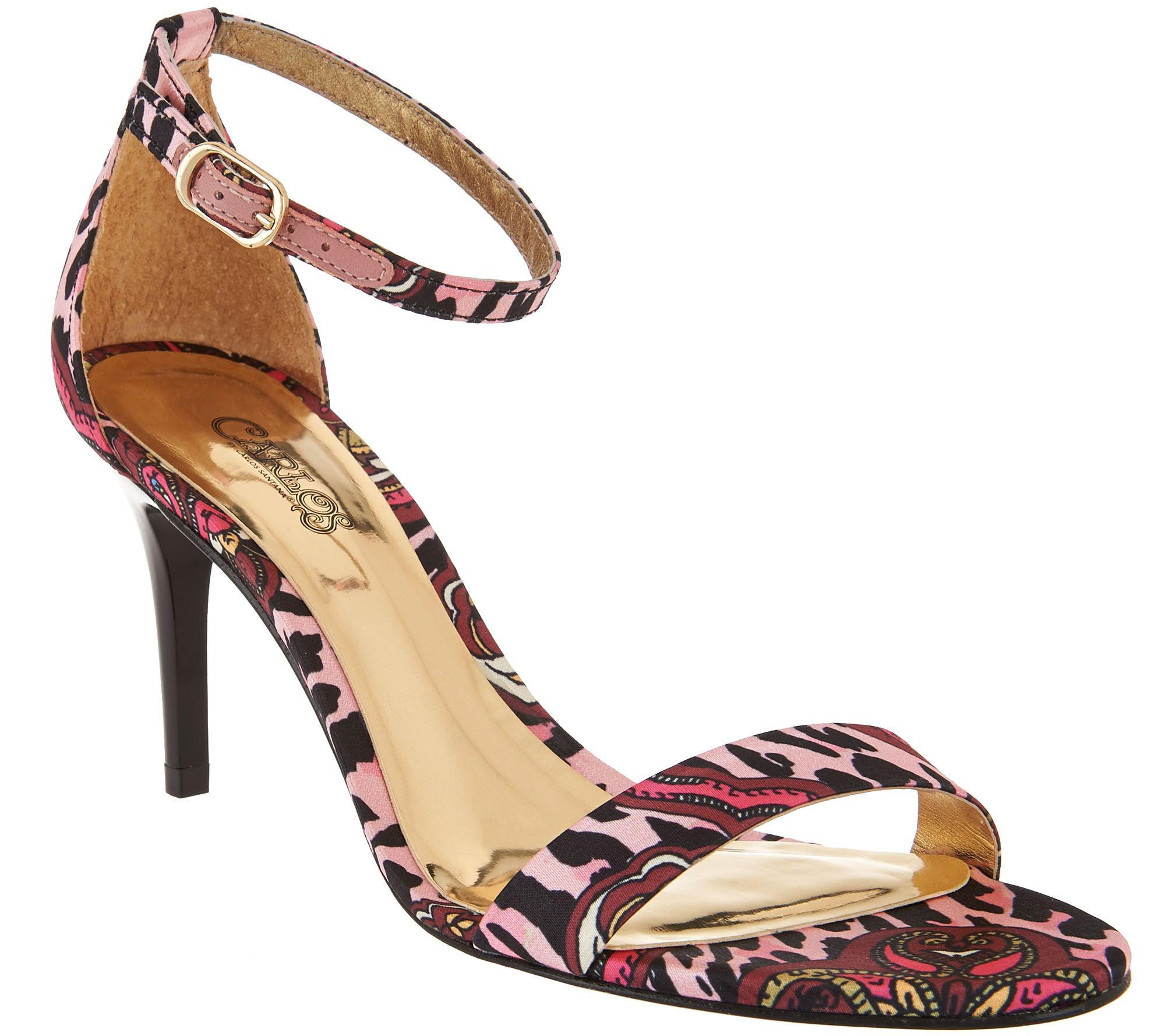Carlos by Carlos Santana Ankle Strap Dress Sandals ...