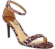 Carlos by Carlos Santana Ankle Strap Dress Sandal - Sunset - S8422