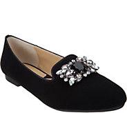 Adrienne Vittadini Patent or Velvet Loafers- Dani - S8330