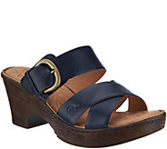 Born Charlotta Slip-On Clog Sandals - S8930