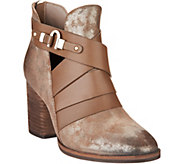 Isola Ladora Dramatic Cross Front Booties - S8932