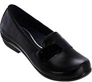 Dansko Leather Slip-On Shoes- Oksana - S8336