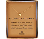 Dogeared 14k Gold Plated Reminder Pendant with 18 Chain - S8739