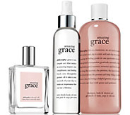philosophy Amazing Grace Set of Three - S8240