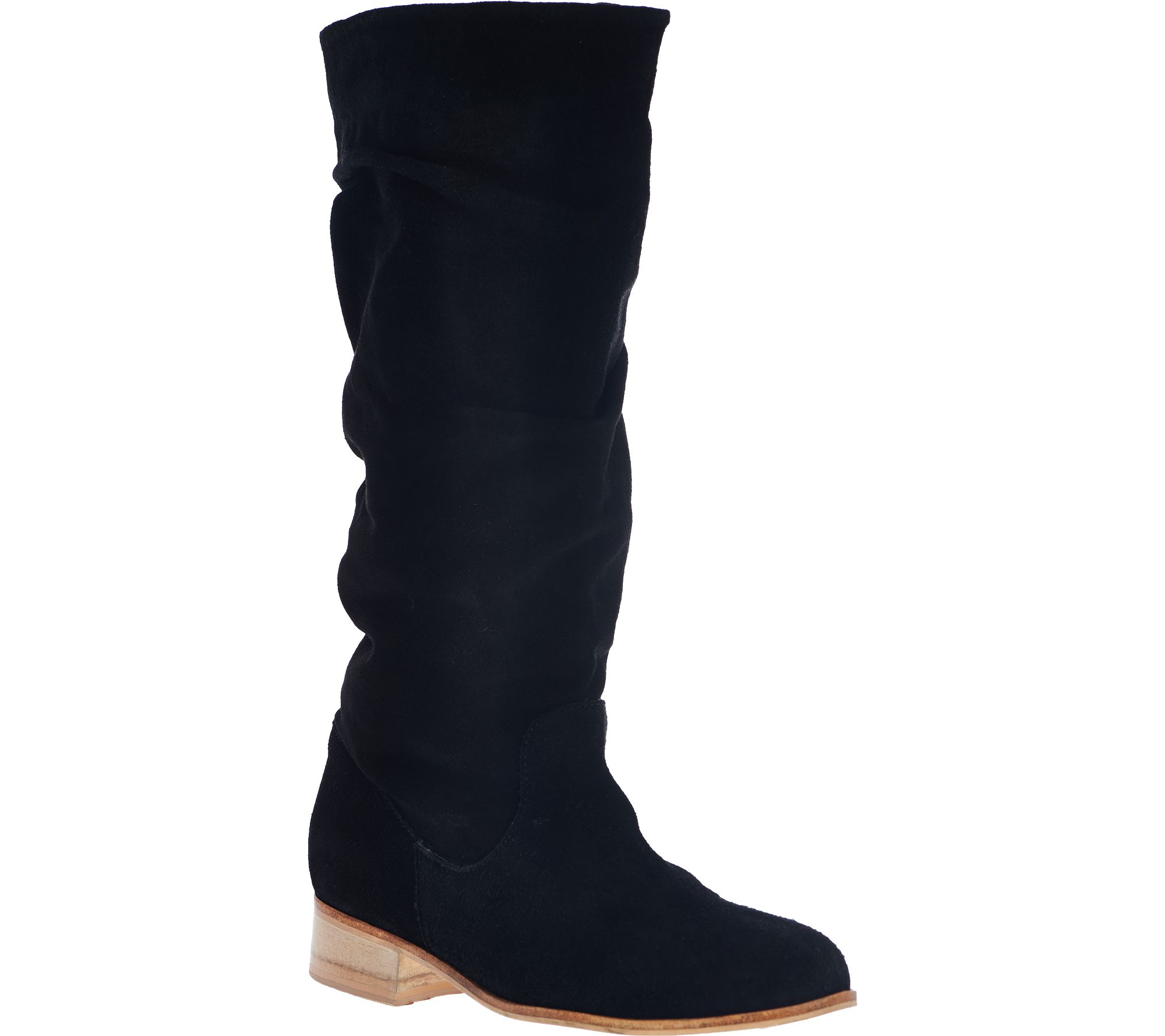 charles by charles david suede mid calf boots joan qvc