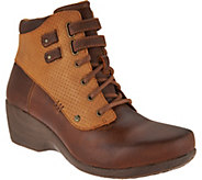 4EurSole Concerto Womens Waterproof Lace-up Booties - S8747