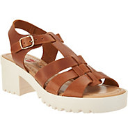 White Mountain Seven Dials Italian Leather Sandals - S8750