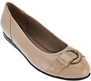Life Stride Ballet Flat with Buckle Detail - Nero - S8551