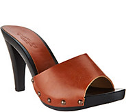 Charles by Charles David Salve Wood Sandals - S8754