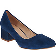Franco Sarto Fausta Block Heel Pumps - S8854