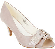 Anne Klein Open Toe Mid-heel Pumps- Dane - S8356