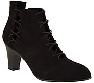 New York Transit Come and Go Lace Up Booties - S8758