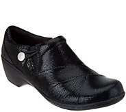 Clarks Leather Slip-on Shoes- Channing Ann - S8360