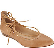 Jessica Simpson Libra Lace Up Flats - S8761