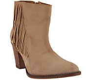Klub Nico Fringe Ankle Boots- Batilda - S8563