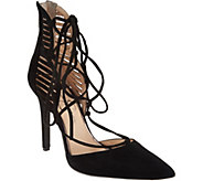 Jessica Simpson Cynessa Lace Up Heels - S8766