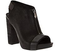 Fergie Peep Toe Slingback Platform Sandals- Rowley - S8475