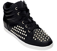Jessica Simpson Trebble Studded Wedge Sneakers - S7278