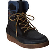 Coolway Brody Leather Lace Up Boots - S8879