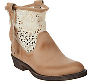 Coolway Flavia Crochet Western Boots - S8880