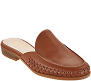 Nine West Juanita Braided Leather Slides - S8892