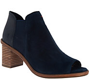 ED by Ellen DeGeneres Peep Toe Booties - S8794