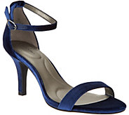 Bandolino Madia Velvet Ankle Strap Sandals - S8895