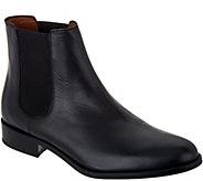 Aquatalia Yulia Black Chelsea Boots - S8798