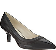 Anne Klein Fairly Pointed Toe Black Pumps - S8898