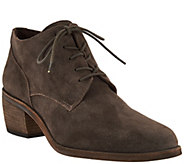 Vince Camuto Suede Lace-up Oxford Booties - Lanaia - S8399