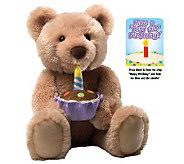 Gund Birthday Bear Feature Plush - T126100