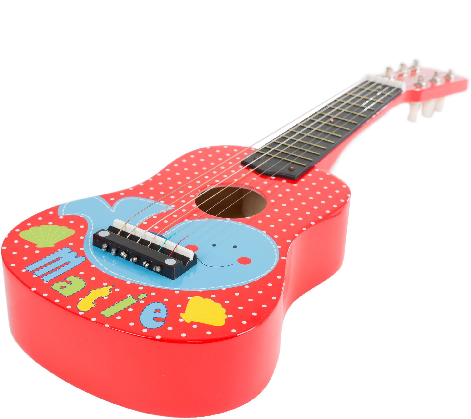 Hey! Play! Toy Acoustic Guitar with 6 Tunable Strings QVC.com