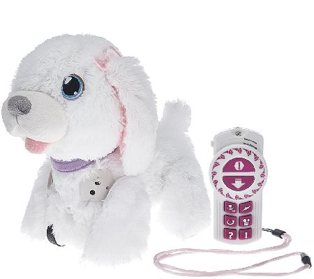 WagAlong Interactive Puppy w/ 8 Voice Commands & Wag