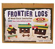 220-Piece Frontier Logs - T124402