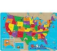 Educational Insights USA Foam Map Puzzle - T127603