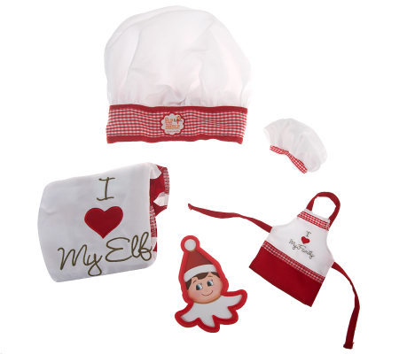 Elf On The Shelf Claus Couture Child Amp Elf Chef Set